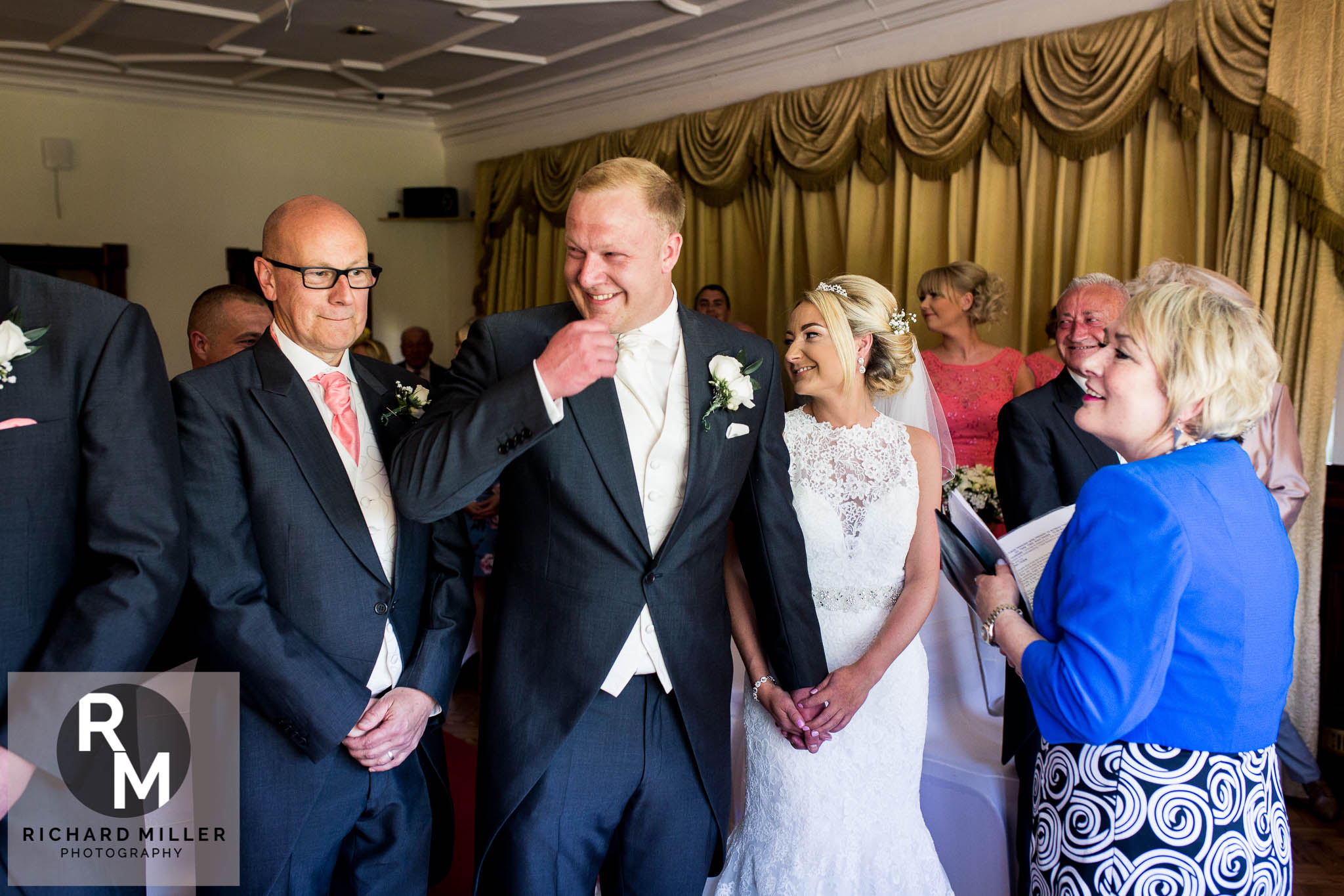 K A 25 - Northop Hall Country House Wedding