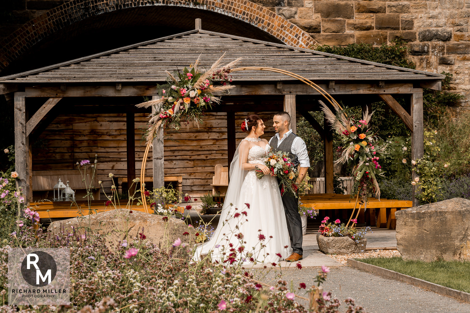 Tower Hill Barns Outdoor Wedding