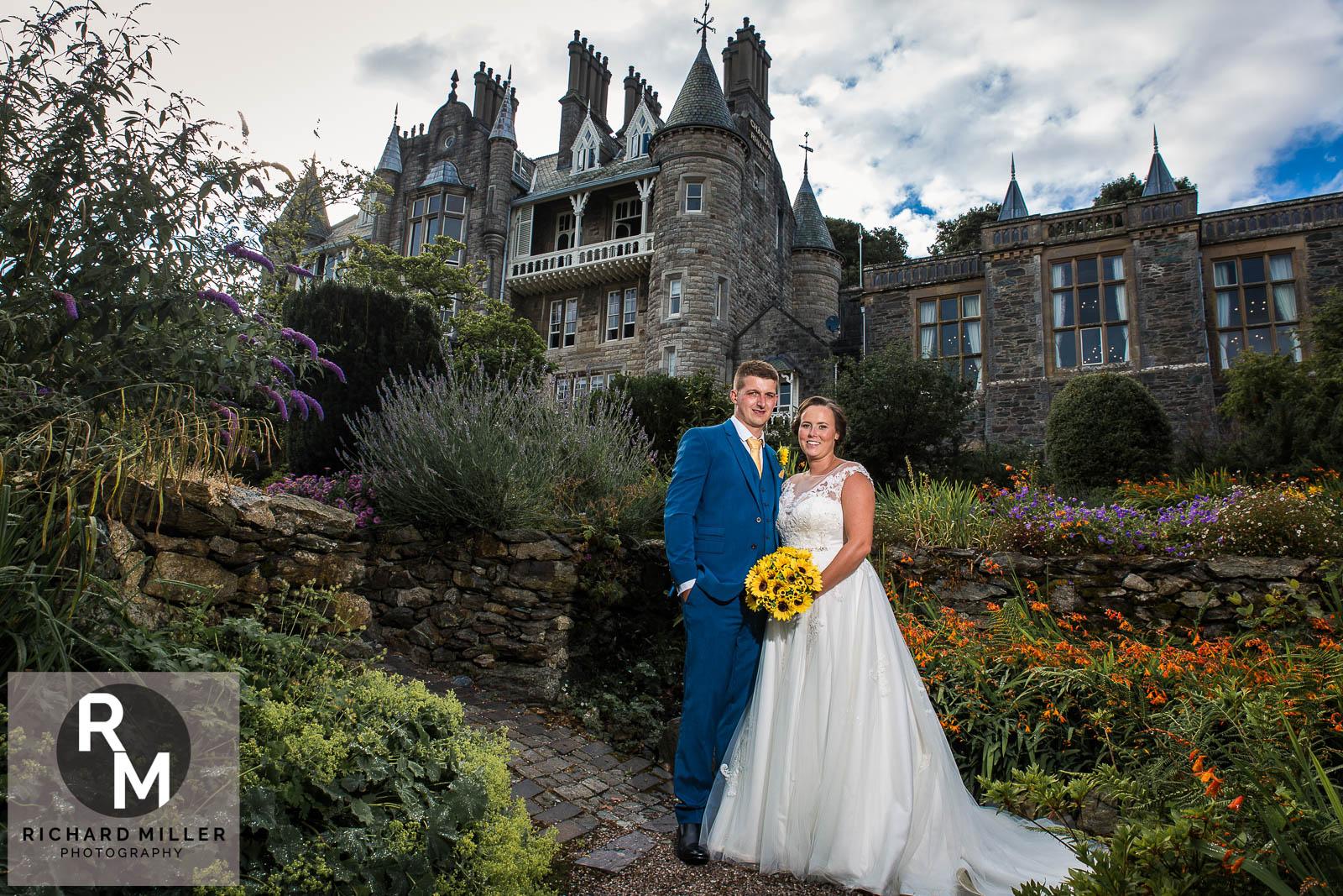 Chateau Rhianfa Wedding Photography – Pete and Jen