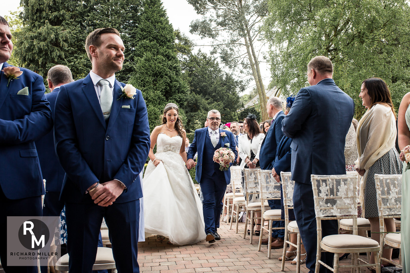P R 12 - Pete & Roxy's Soughton Hall Outdoor Wedding