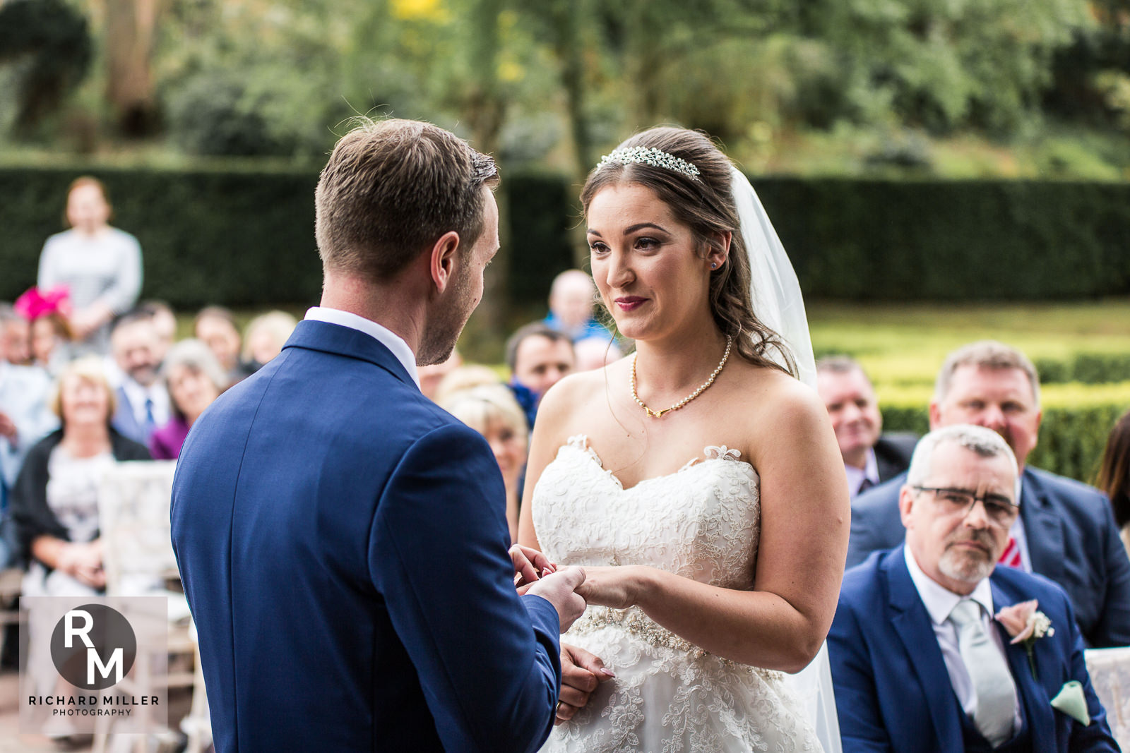 P R 16 - Pete & Roxy's Soughton Hall Outdoor Wedding