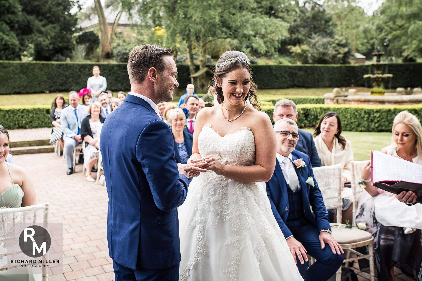 P R 17 - Pete & Roxy's Soughton Hall Outdoor Wedding