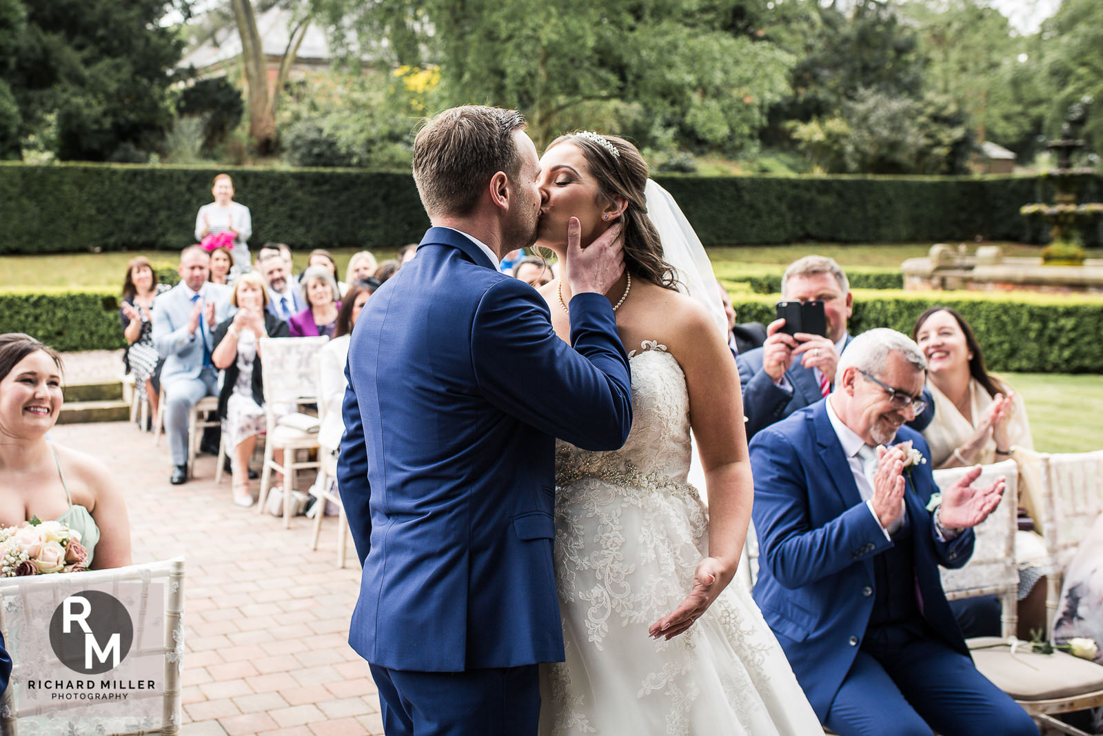 P R 19 - Pete & Roxy's Soughton Hall Outdoor Wedding