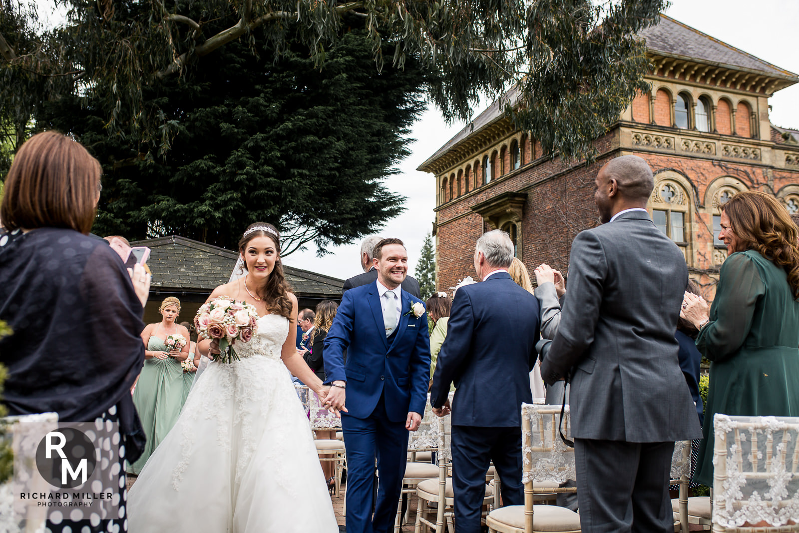 Soughton Hall Outdoor Wedding