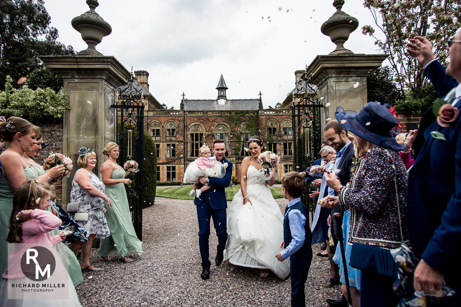 P R 29 - Pete & Roxy's Soughton Hall Outdoor Wedding
