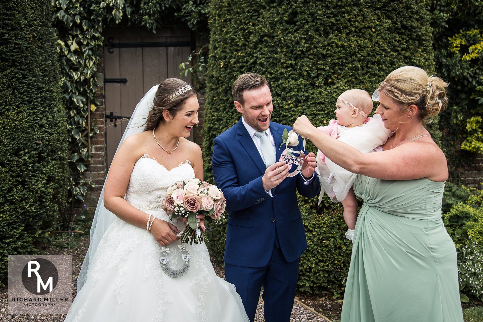 P R 30 - Pete & Roxy's Soughton Hall Outdoor Wedding