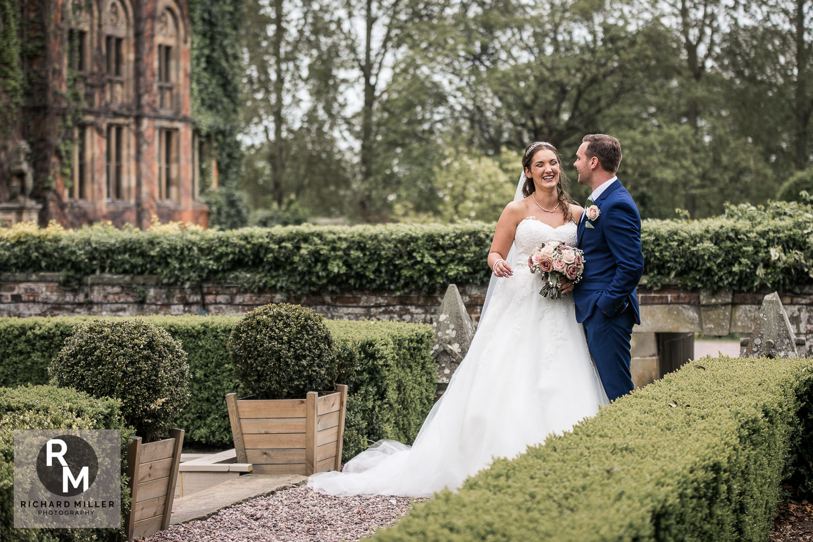P R 38 - Pete & Roxy's Soughton Hall Outdoor Wedding