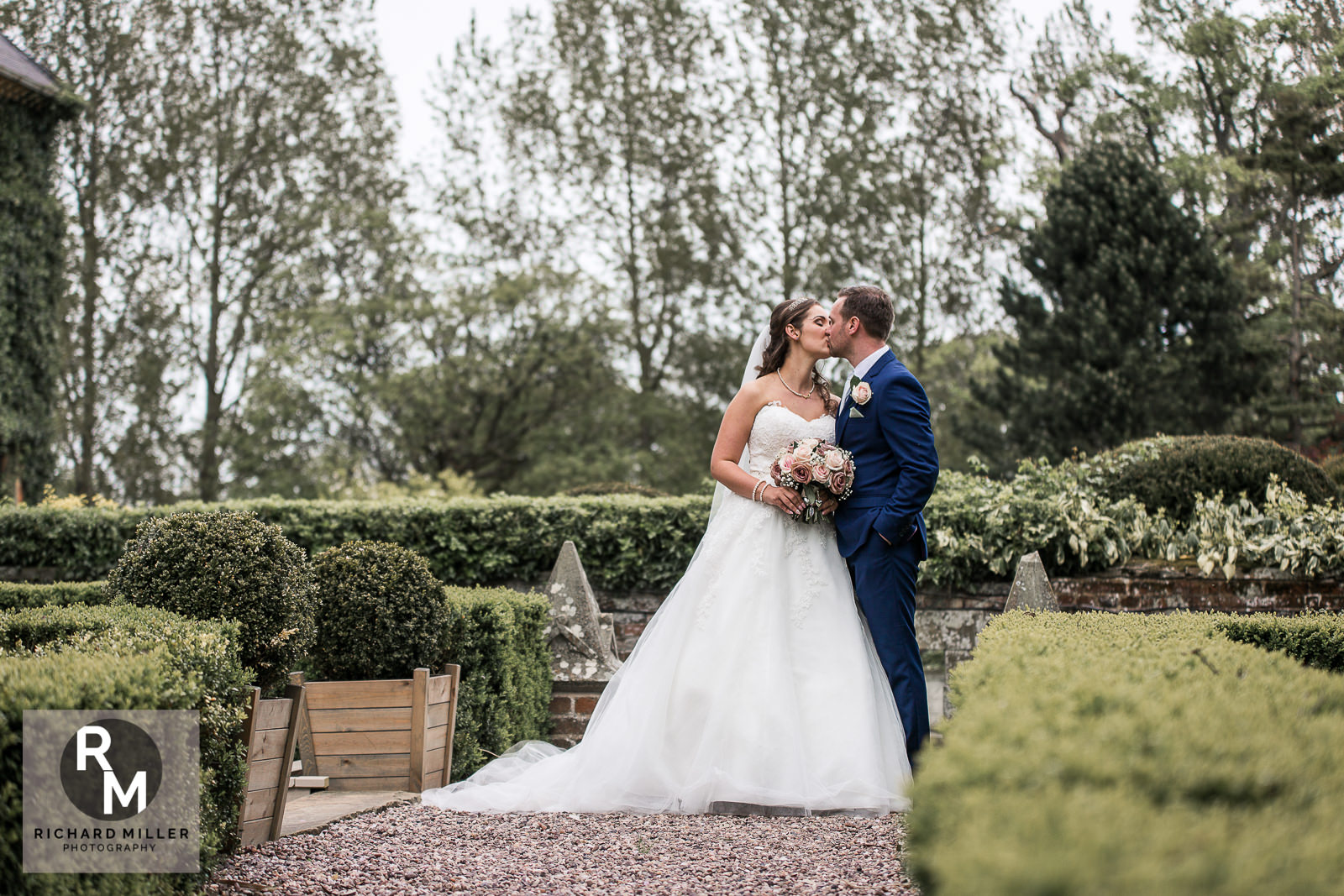 P R 39 - Pete & Roxy's Soughton Hall Outdoor Wedding