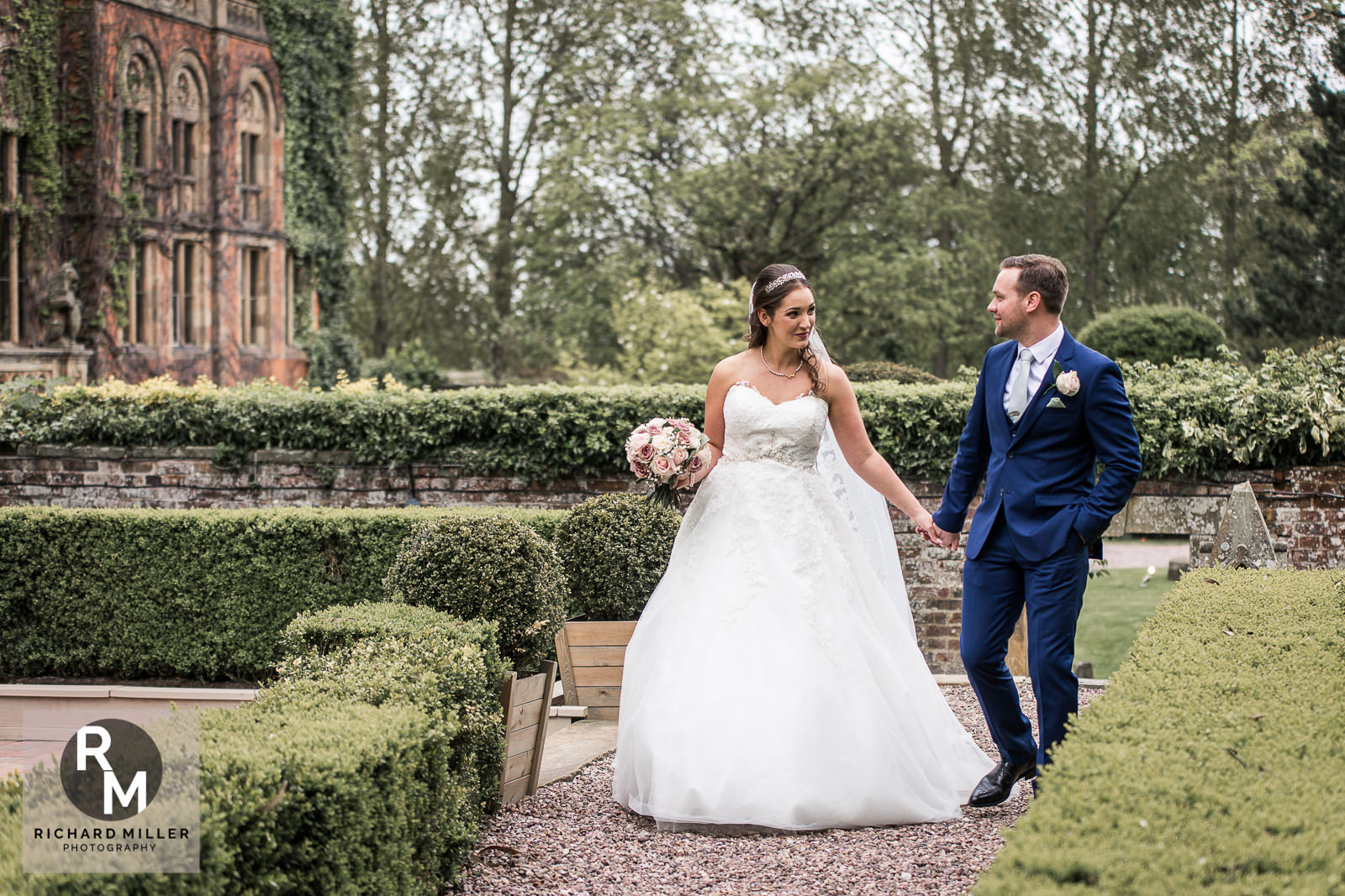 P R 41 - Pete & Roxy's Soughton Hall Outdoor Wedding