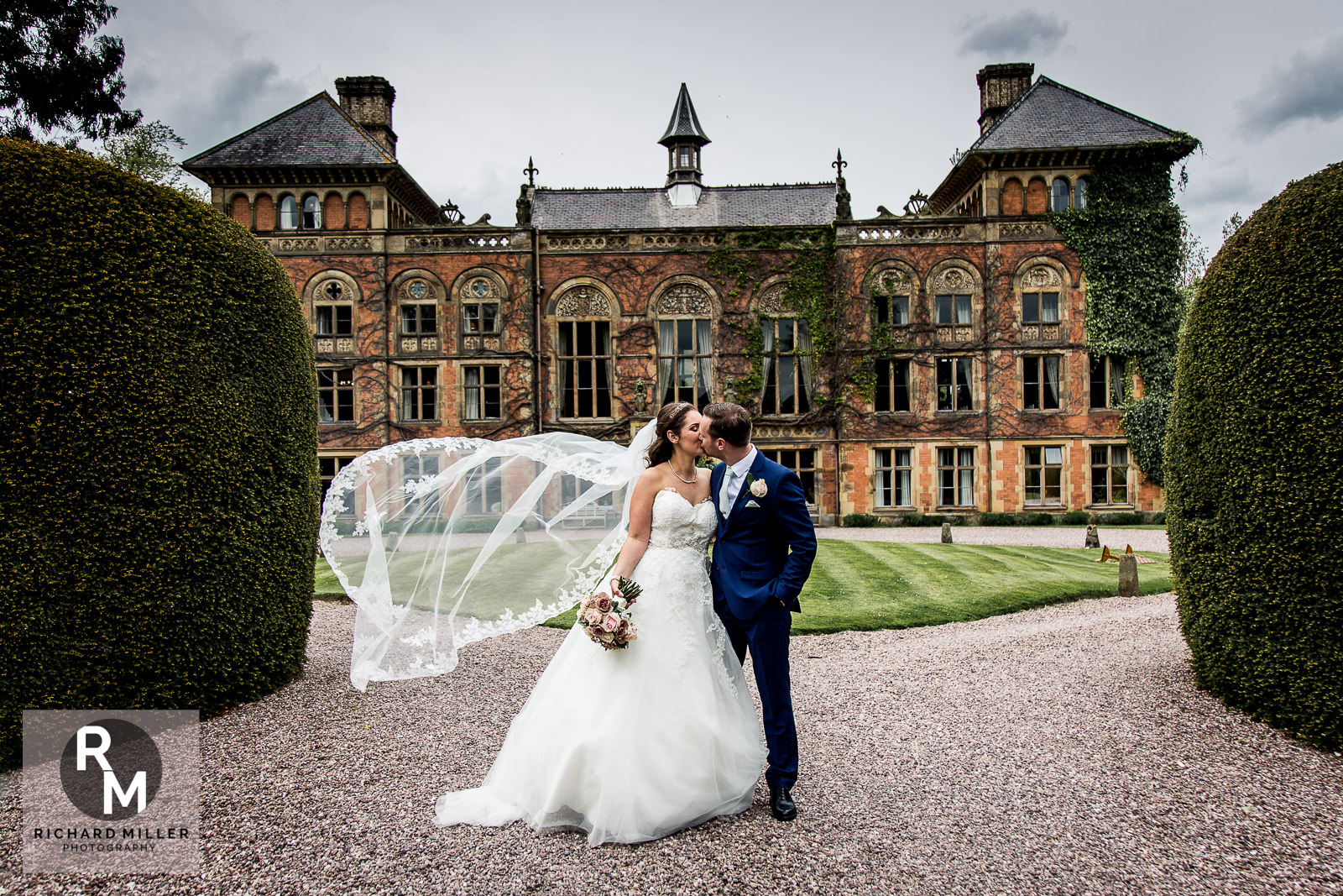 P R 43 - Pete & Roxy's Soughton Hall Outdoor Wedding