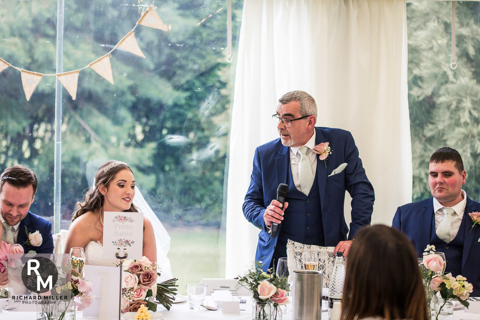 P R 45 - Pete & Roxy's Soughton Hall Outdoor Wedding