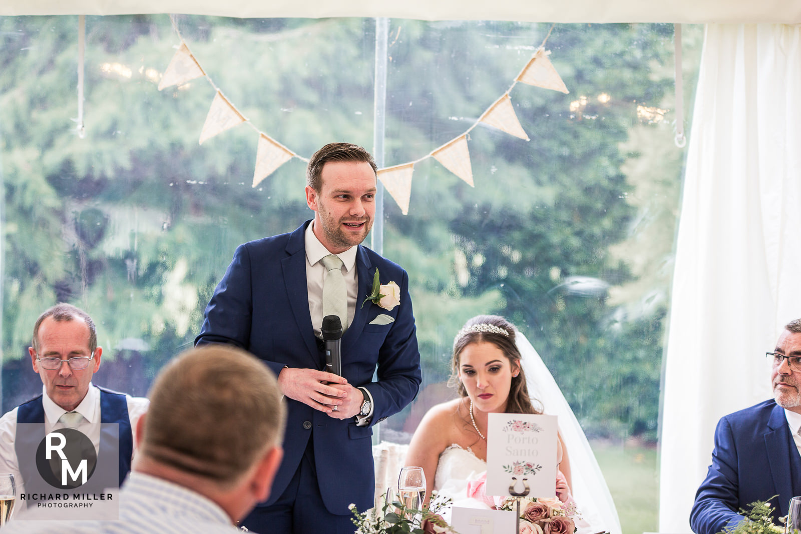 P R 47 - Pete & Roxy's Soughton Hall Outdoor Wedding