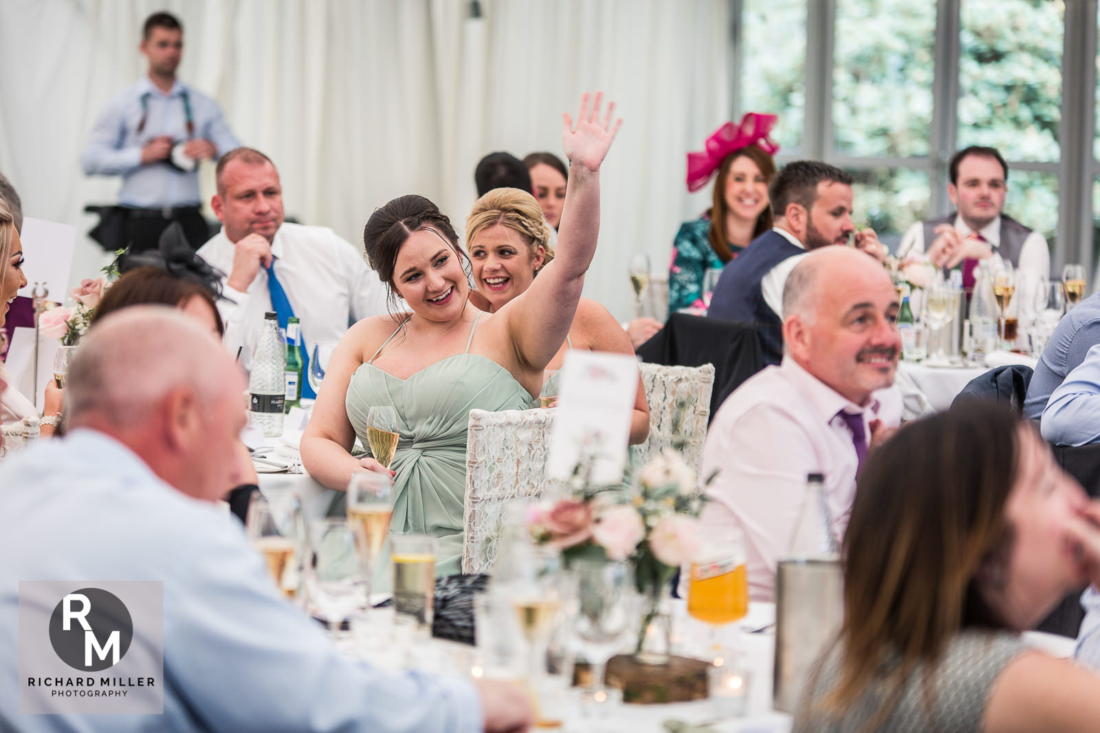 P R 48 - Pete & Roxy's Soughton Hall Outdoor Wedding