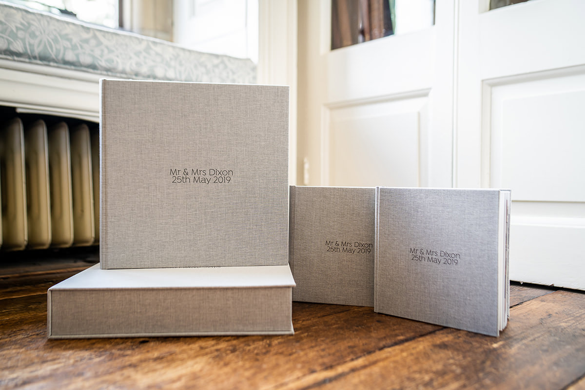 Wedding album packages