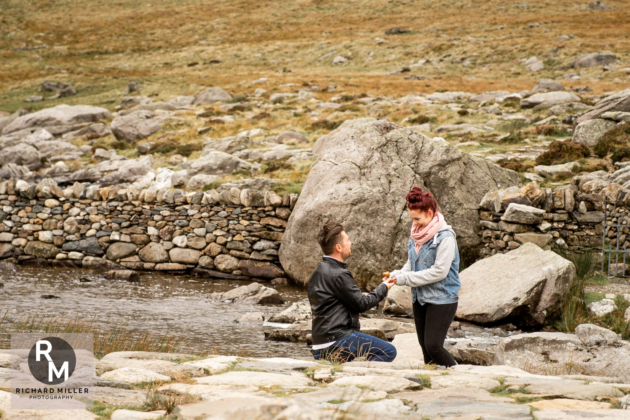 Llyn Idwal Engagement Shoot