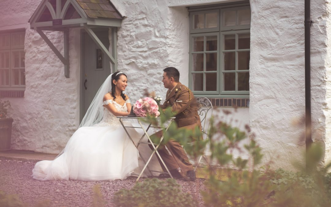 Tyn Dwr Hall Wedding Photographer – Gav & Alison